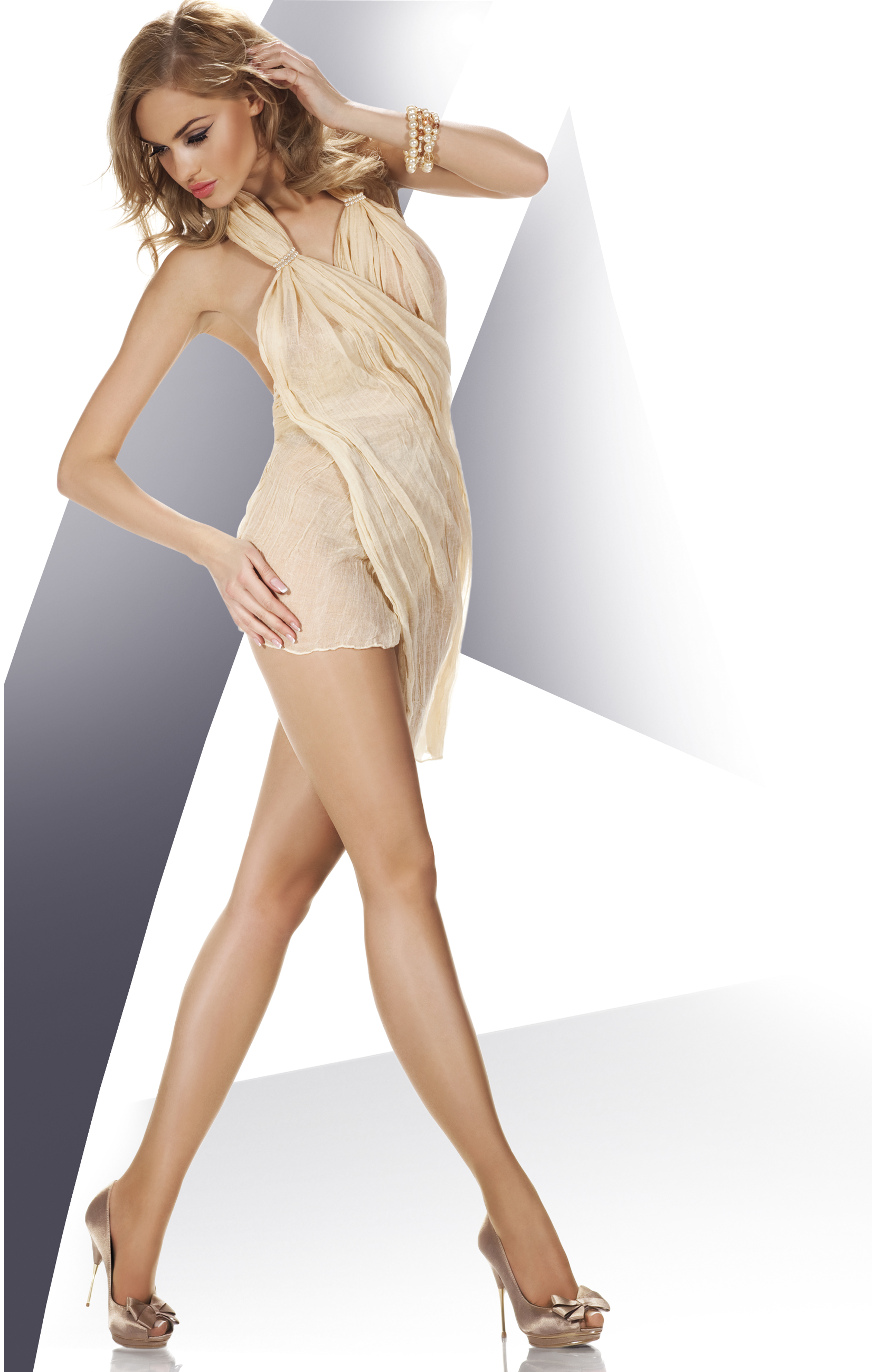 ae7aca861deb2 Annes Nebbia - 8 denier summer tights with sandal toe ✅