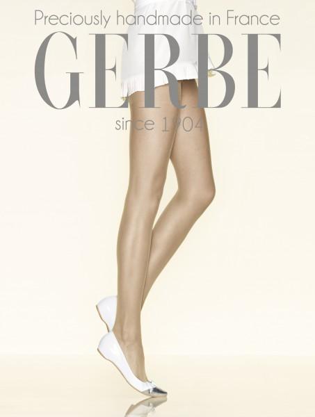 Gerbe - Sheer mat tights without elastane Mousse Altesse 20 DEN