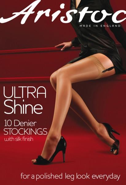 Aristoc - Ultra Shine 10 denier stockings with silk finish