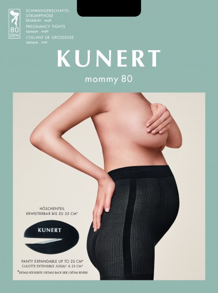 KUNERT Mommy 80 - Opaque maternity tights