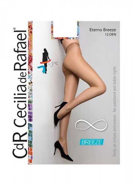 Cecilia de Rafael Eterno Breeze - Comfortable no waistband tights with cooling effect