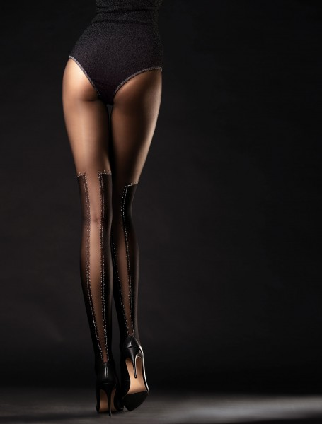 Fiore Poison - Gorgeous mock over the knee tights