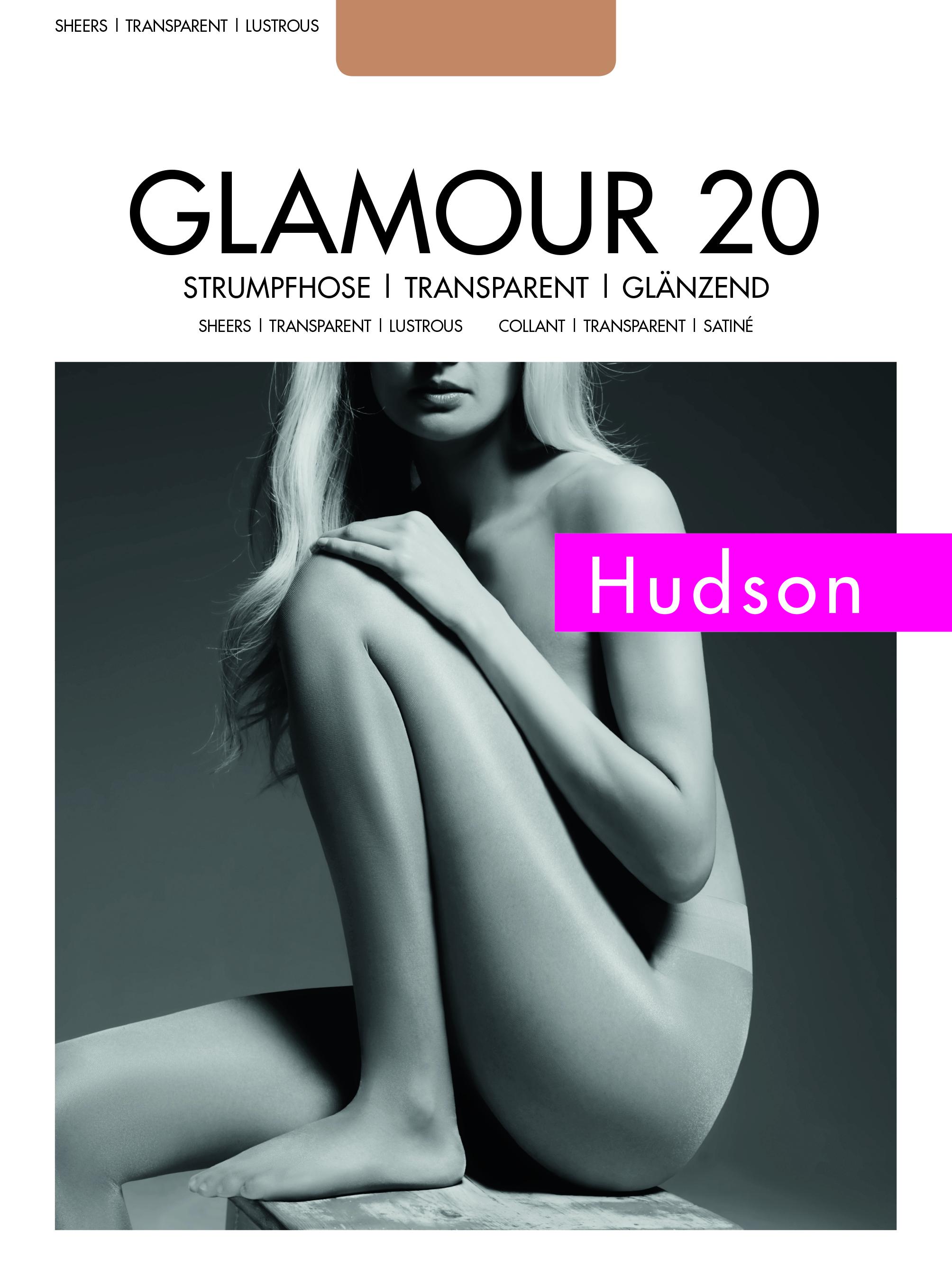 dcfaba310a676 Hudson - Sheer, shiny tights Glamour 20 ✅