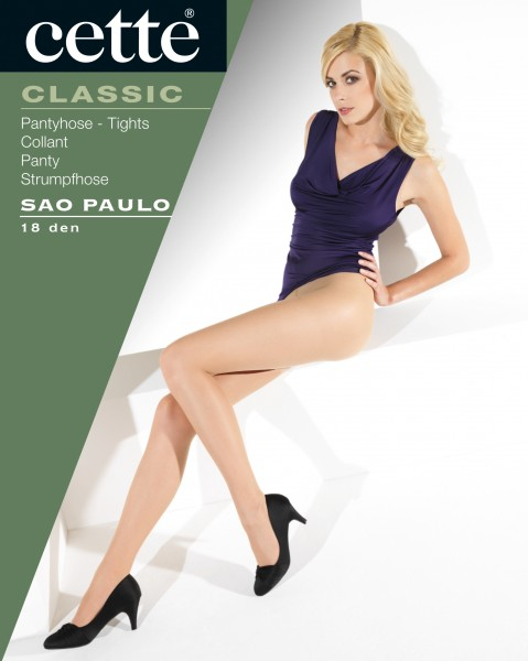 Cette Sao Paulo - 18 denier satin finish tights