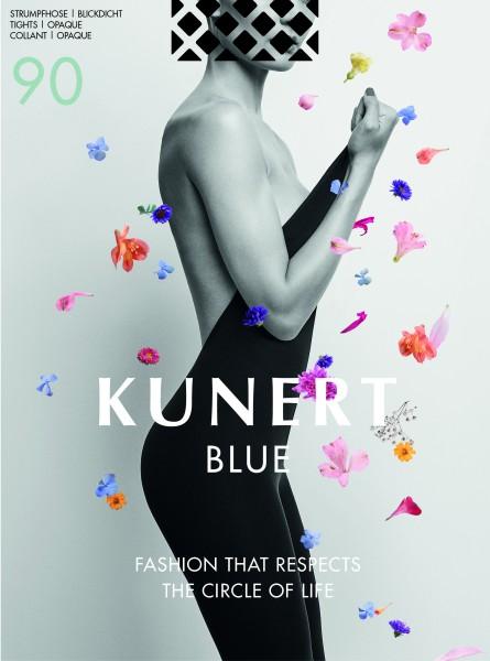 Kunert Blue 90 - Opaque biodegradable tights