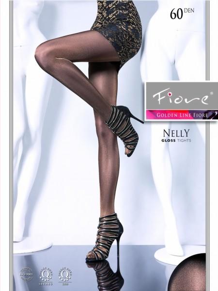 32ec313947f54 Fiore - Glossy, opaque tights Nelly 60 DEN ✅