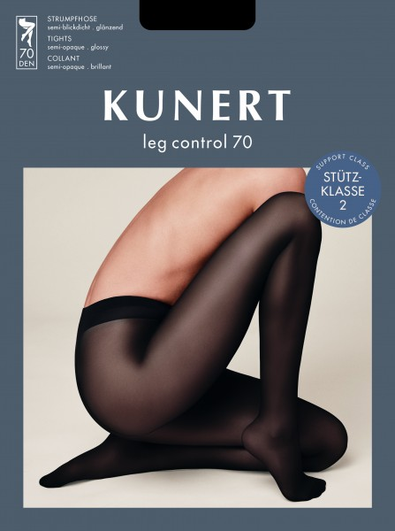 Kunert Leg Control 70 - Gloss, semi-opaque support tights