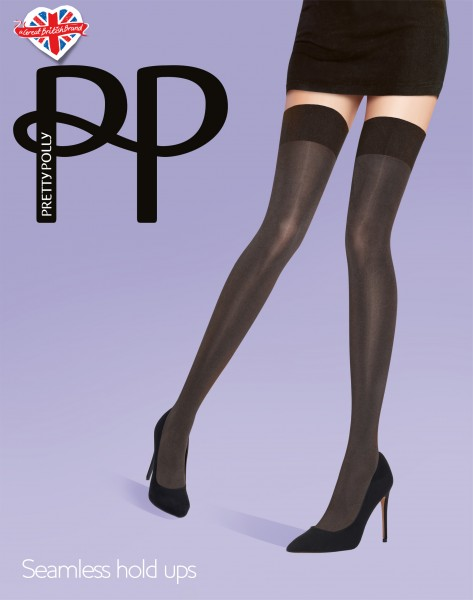 Pretty Polly Seamless Opaque Hold Ups