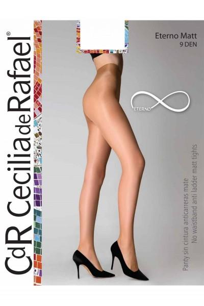 Cecilia de Rafael Eterno Matt - Matt no waistband tights