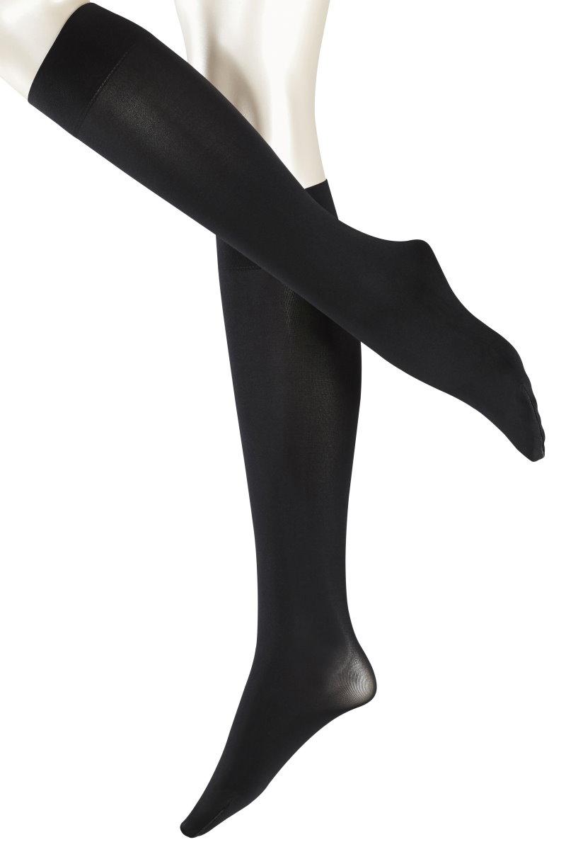 FALKE PICK BLACK COLOUR NUDE TIGHTS HOLD UPS STOCKINGS OPAQ SHEER NET//NAT FIBRE