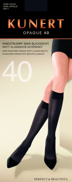 Kunert - Opaque knee highs Opaque 40