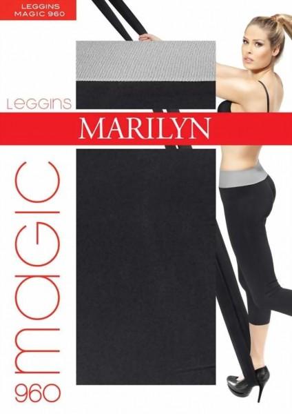 Marilyn - Comfortable cotton leggings Magic 180 DEN
