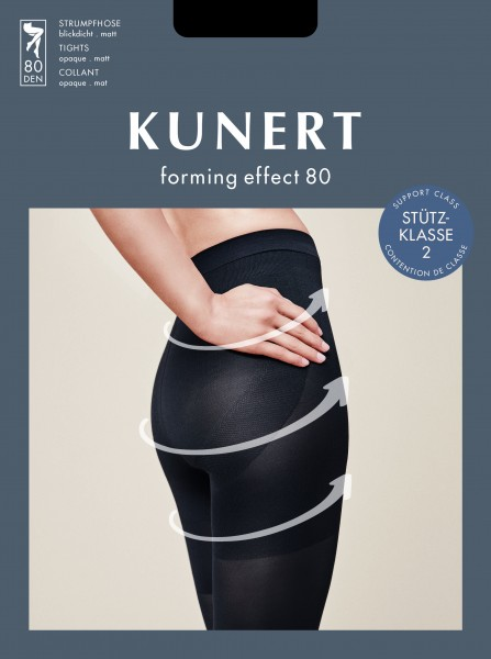 Kunert - Opaque body shaping tights Forming Effect 80
